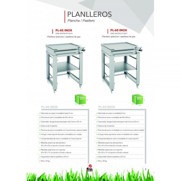 PLANLLERO PL-45 INOX