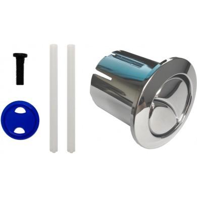 PULSADOR LARGO D1D AH0002000R Conjunto pulsador largo varilla recortable para doble descarga D1D. Referencia AH0002000R de la marca ROCA. Mecanismo conjunto doble pulsador 3/6 litros (tapa 400).