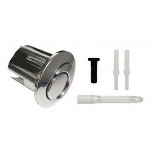 Conjunto pulsador corto varilla roscable para doble descarga D2D. Referencia AH0001800R ROCA. Mecanismo conjunto doble pulsador 3/6 litros (tapa 400).