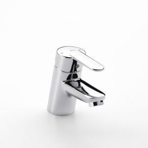 GRIFO VICTORIA LAVABO A5A3125C00 Mezclador monomando para lavabo con enganche para cadenilla y enlaces de alimentación flexibles A5A3125C00 ROCA.